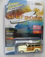 1941 Chevrolet Deluxe SURF Woody   **RR** Johnny Lightning MiJo excl. 1:64 OVP
