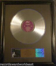 Garth Brooks No Fences LP Platinum Non RIAA Record Award Capitol Records