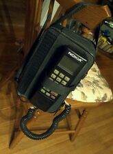 Vintage Nokia M11 Mobile Car Phone w/Case & Spare Battery Pack / Bundle