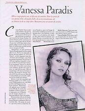 COUPURE DE PRESSE CLIPPING 1997 VANESSA PARADIS    (4 pages)