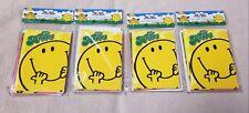 Lot 4 Mr. Men & Little Miss Packs 8 Note Cards & Envelopes Roger Hargreaves 32