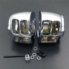 Chrome Switch Housing Cover For Harley Sportster Dyna Softail V-Rod 2002-2010
