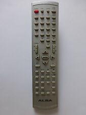 ALBA TV/DVD COMBI REMOTE CONTROL for TVD3406XI