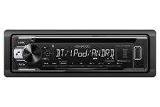 Kenwood 1-DIN Car Stereo CD Receiver Player Bluetooth USB AUX  KDC-BT268U