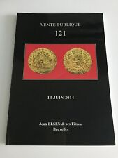JEAN ELSEN COIN AUCTION CATALOG 121 JUNE 2014 VENTE PUBLIQUE ANCIENT WORLD BRUSS