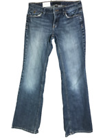 Banana Republic Women's Jeans Classic Boot Cut Mid Rise Size 8 Dark Blue Denim