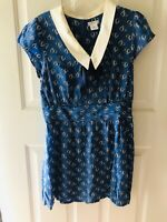 Urban Outfitters Cooperative blue dress, vintage looking 50s/60s schoolgirl vibe