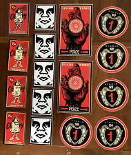 Obey Giant 16 Sticker Pack Clothing Shepard Fairey Street Art Decals New Vinyl