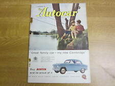 September 14th 1956, AUTOCAR, Morgan 4/4, The Berkeley, Tony Brooks, Goggomobil.
