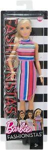 Barbie Fashionistas 68 - Candy Stripes. Brand New Boxed Doll, NRFB.