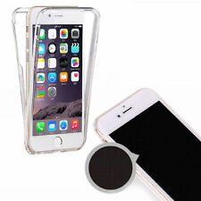 360° Front And Back Slim TPU Clear Gel Cover Case For iPhone 5/5G/5S/SE