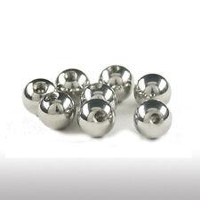 Stahl Piercing Kugel 1,6mm Gewinde Schraubkugel in 3/4/5/6/8 Piercing Ball