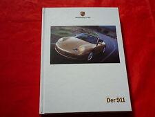 Porsche 996 911 carrera Coupé Cabriolet Hardcover folleto de 1999