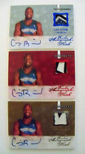 CHRIS RICHARD 07-08 ROOKIE AUTO PATCH LOT GOLD #/599 RED #/25 BLUE #/10 $100 BV