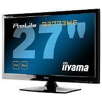 iiyama ProLite 27 inch Gaming LED Backlit LCD Monitor 1000:1 300cd/m2