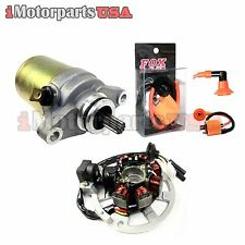 2001-2006 POLARIS SPORTSMAN 90 ATV STATOR STARTER PERFORMANCE IGNITION COIL KIT