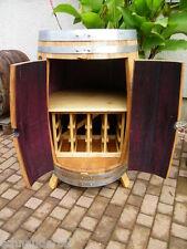 Weinfass Weinschrank mit Weinregal für 12 Flaschen