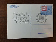 Vatican City Special Cancelled Post Card 50th Anniv. of Stamps