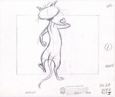 Looney Tunes 1981 Warner Bros Animation layout drawing Clarence Looney Movie