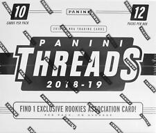 2018/19 Panini Threads Basketball Jumbo Fat Pack Box - Luka Rookies!