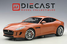 AUTOART 73653 JAGUAR F-TYPE 2015 R COUPE, FIRESAND METALLIC ORANGE 1:18TH SCALE