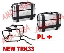 KIT 2 VALIGIE TRK33 ALLU + TELAIO HONDA NC750 X - NC 750 S +  PL1146 COMPLETO