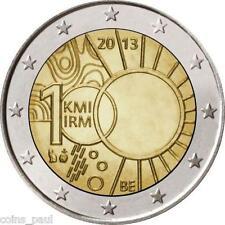 Belgium Belgie Belgique Belgien Бельгия 2 Euro, 2013 Meteorogical Instintute UNC