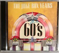 THE JUKE BOX YEARS - THE 60'S, CD ALBUM.
