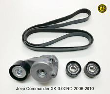 For Jeep Commander XK 3.0CRD Serpentine Belt Repair Kit 2006-2010