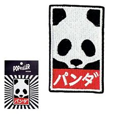Panda Sew/Iron On Patch Popkiller Patches