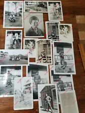 WW2 Original Photos Robert Red Larrs Ft Bragg Ft Ord Ft Edwards 1942-43 US Army