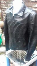 Jitrois Lambskin Leather Jacket Uk Size 14/16. Fr Size 50