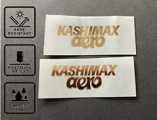 Kashimax Aero Side Decal Set Stickers old school BMX Restoration