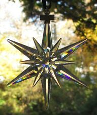 Swarovski 2005 Annual Large Star Ornament New and Mint in Box