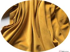 1met (x 100 112cm) SUNSHINE color dorado Algodón Terciopelo Para Confección