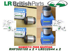 LAND ROVER BUSHING UPPER AND LOWER REAR KNUCKLE SET OF 4 RHF500100+LR032644