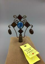 Glass & Copper Handcrafted NOS Lamp Finial
