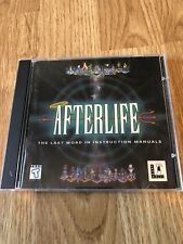 After Life The Last Word In Sims CD Rom LucasArts Nice Disk ST1