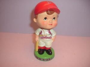"""St. Louis Cardinals 5"""" Paper Mache Bobblehead Nodder Baseball Player"""