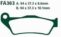 Plaquettes de frein Pour BMW R 1100 1150 1200 K 1200 1300 R S HP2 Sport Enduro