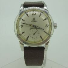 Vintage 1950s Omega Seamaster 2576-14 Automatic Swiss 17J Cal. 342 Stainless Ste