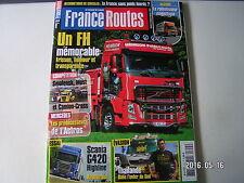 ** France roads no 355 scania g420 highline euro 5 mercedes atego 1224 bluetec 5