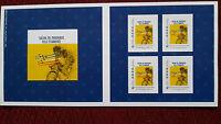 Collector de 4 timbres du tour de France 2017 Salon de Provence ville d'arrivée.