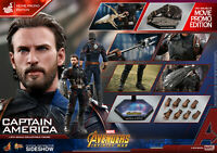 Hot Toys Captain America Movie Promo Edition Avengers Infinity War MMS481 New
