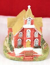"Vintage 3"" Liberty Falls Village Americana Collection ""Trinity Church"" Ah88"