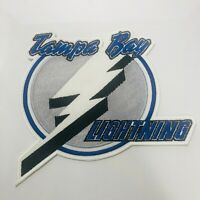 "NHL TAMPA BAY LIGHTNING Iron On Crest Patch 10"" x 11"""