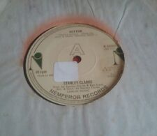 "STANLEY CLARKE - ""HOT FUN"" c/w ""LIFE IS JUST A GAME"" N. MINT CONDITION"