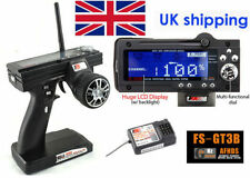 FS-GT3B FLYSKY 2.4G 3CH Gun Transmitter With Receiver For RC Car UK Stock