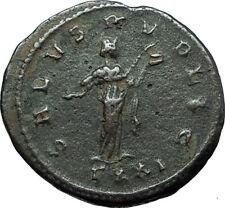 PROBUS Genuine 278AD Ticinum Authentic Ancient Roman Coin SALUS w SERPENT i66304