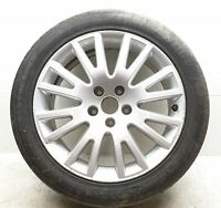 "AUDI A4 B7 17"" ALLOY WHEEL WITH TYRE 5X112 7.5Jx17H2 ET45 4F0601025AK #5"